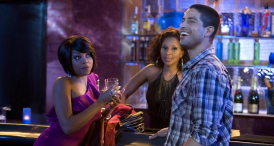 "From left: Taraji P. Henson, Mary J. Blige, and Adam Rodriguez star in ""Tyler Perry's I Can Do Bad All By Myself.''"