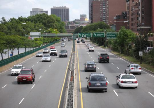 """A tipster wonders why there """"rarely is a police cruiser seen enforcing the speed limit'' on Storrow Drive."""