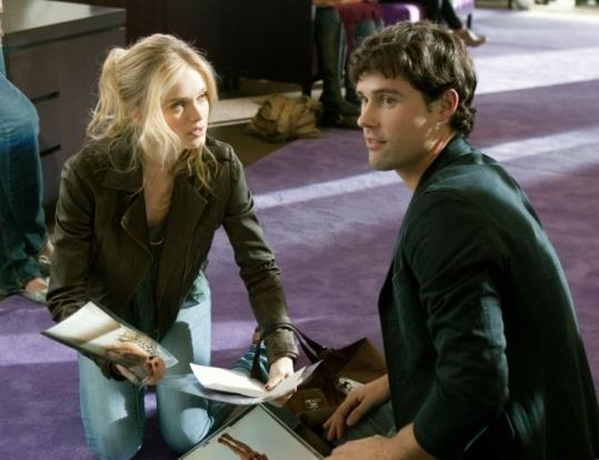 "Raina (Sara Paxton) and Chris (Ben Hollingsworth) are young models in the CW soap ""The Beautiful Life: TBL.''"