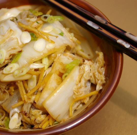 how to prepare and cook chinese cabbage