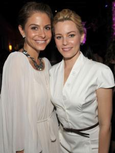 Medford's Maria Menounos and Pittsfield-bred Elizabeth Banks.