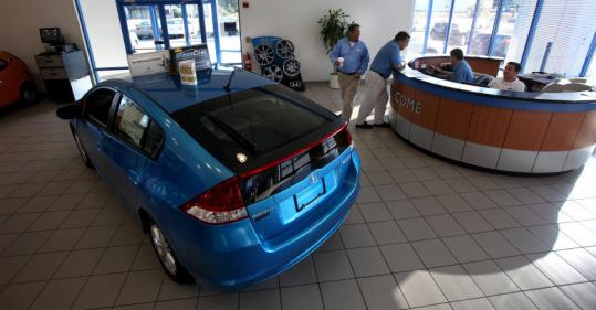 Business is slower at Silko Honda of Raynham now that the Cash for Clunkers program is over, but the dealership is making sales.