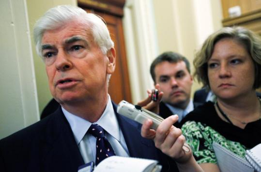 """""""We clearly need to put in place an architecture that restores confidence and makes people feel that when they engage in financial activities,'' Senator Chris Dodd said."""