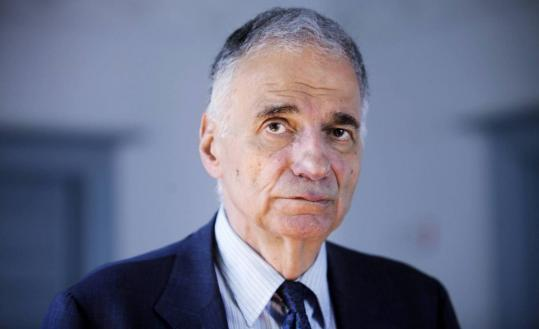 """Fiction is a way to liberate the imagination,'' says Ralph Nader, who has written a book called ""Only the Super-Rich Can Save Us!''"