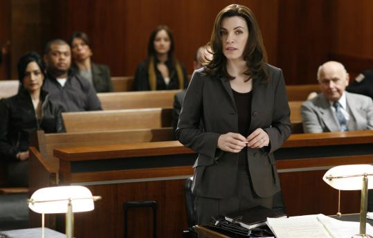 "In ""The Good Wife,'' Julianna Margulies picks up the pieces after her husband goes to jail."