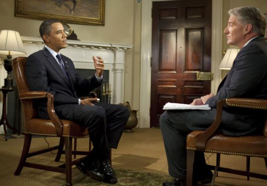 President Obama spoke about health care Friday with John King of CNN.