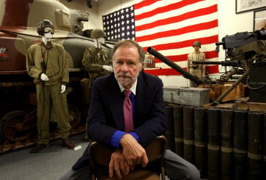 Kenneth Rendell, who has gathered thousands of World War II artifacts, including a Sherman tank, is allowing more to view them.