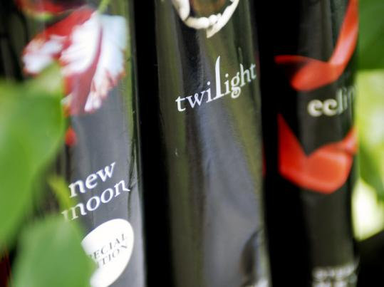 Three titles from popular series of books by Stephenie Meyer.