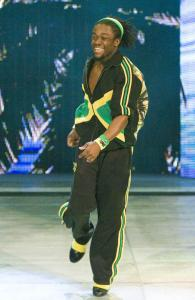 Kofi Kingston was a wrestling champion at Winchester High, but he has hit the big time on the WWE's stage.