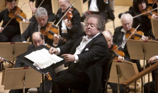 MICHAEL J. LUTCHConductor James Levine will miss at least three weeks of the BSO's season due to back surgery.