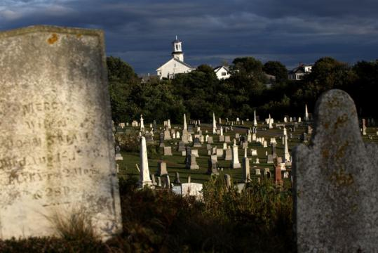 Provincetown Cemetery is one of many that are nearly out of space.