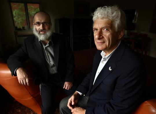 Greg Margolin (left) and Ary Rotman are cofounders of the Russian Jewish Community Foundation, which will honor five refuseniks at an Oct. 18 gala.