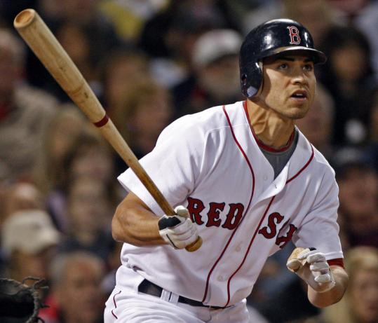 Red Sox center fielder Jacoby Ellsbury believes his aggressive nature has helped him develop into a better leadoff hitter.