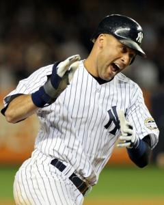 Derek Jeter erased the Yankees' only deficit of the game with a two-run homer in the third.