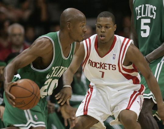 Kicking off the preseason Wednesday night, veteran guard Ray Allen said he's as fit as ever.