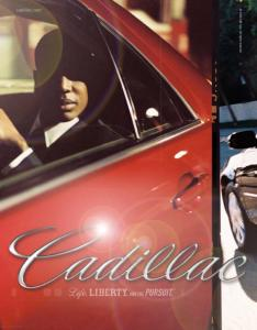 Modernista created this print advertisement for Cadillac.