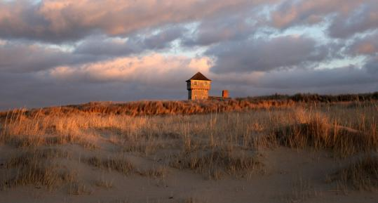 Provincetown's Race Point Beach along the Cape Cod National Seashore offers sweeping views of the dunes and is nearly deserted in the off-season.