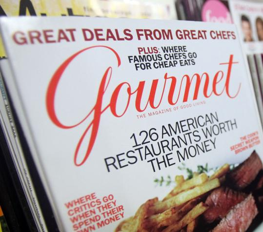 After 68 years reporting on fine cuisine, Gourmet magazine was one of four magazines shut down by Condé Nast.