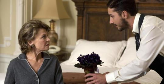 "Julie Christie and Shia LaBeouf (above) and Natalie Portman appear in ""New York, I Love You,'' a compilation of short episodes."