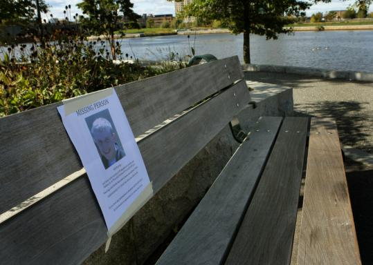 A flier seeking information about William Hurley's disappearance was posted in the Nashua Street Park . Hurley's body was recovered nearby yesterday in the Charles River.