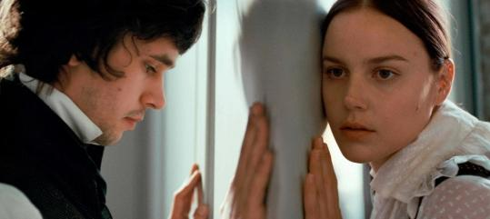 "Apparition Ben Whishaw as John Keats and Abbie Cornish as Fanny Brawne in ""Bright Star.''"