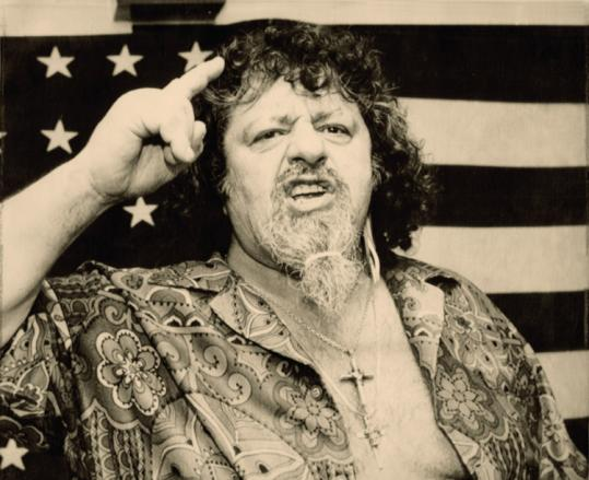 Captain Lou Albano was known for his wrestling moves and outsized personality.