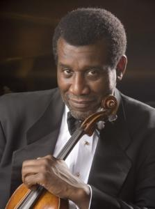 Marcus Thompson, Boston Chamber Music Society's artistic director.
