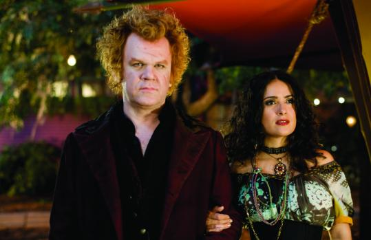 John C. Reilly (with Salma Hayek) plays a vampire who stars in a mysterious freak show.