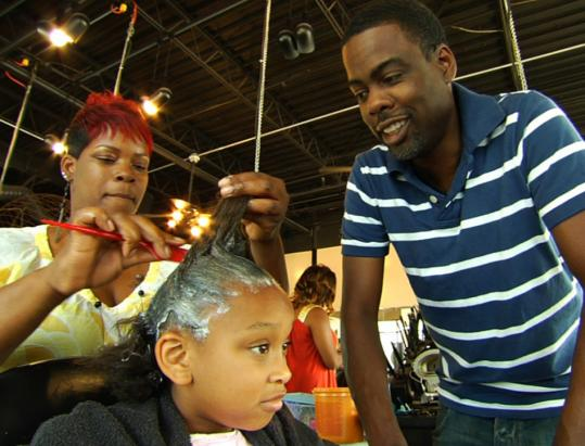 "Chris Rock tours barber shops and beauty parlors in his movie ""Good Hair.''"