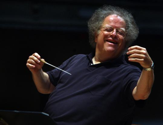'It would be a mistake 'to come back before my body is ready.' ' -- James Levine, BSO and Metropolitan Opera Orchestra music director