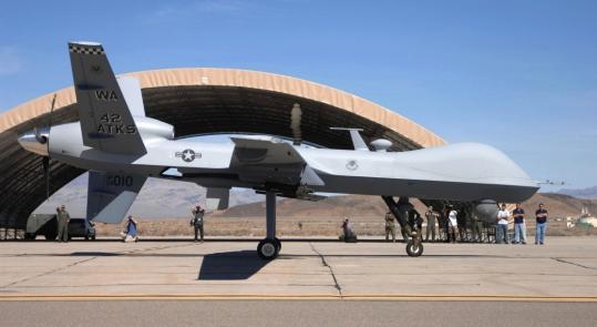 The 36 Foot Long Reapers Are Each Size Of A Jetfighter Can