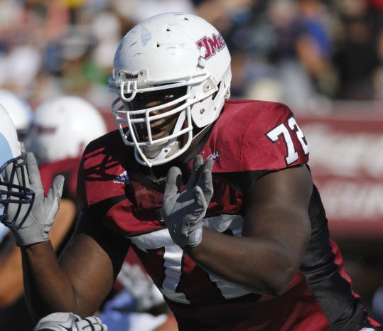 Big, strong, and mobile, UMass offensive tackle Vladimir Ducasse is hands down a top-notch NFL prospect.