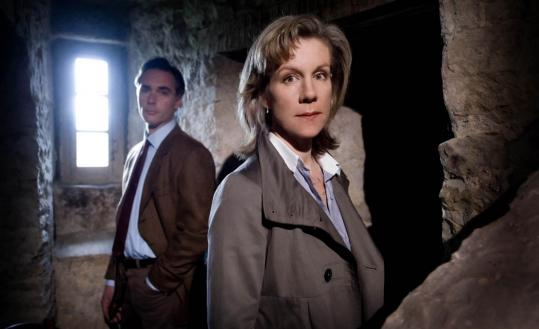"Juliet Stevenson and Greg Wise (top) and Lee Ingleby (below) star in ""Place of Execution,'' a two-part PBS miniseries mystery."