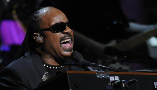 Stevie Wonder honored Michael Jackson during Thursday's concert at Madison Square Garden.