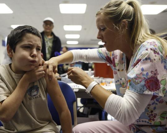 So far, 27 million doses of the H1N1 vaccine have been delivered, one of which was administered to a grimacing Anthony Adams, 10, last week in Haltom City, Texas. Makers say 10 million more doses will be available soon.