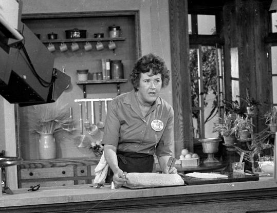 """Associated press/File Ron Bachman, WGBH director of programming, says the station has about four dozen episodes of """"The French Chef'' with the late Julia Child (above, in 1970) ready for air."""