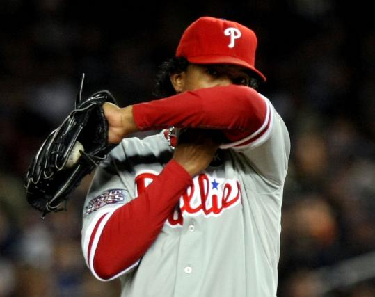 Pedro Martinez didn't offer much resistance to the Yankees' title run. He lost both World Series starts, including last night's.