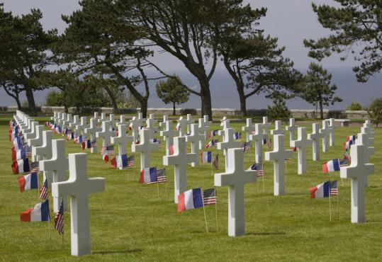 "Ken Chase says, ""I've never heard a liberal say, 'I want to make a pilgrimage to Normandy,' '' site of the American Cemetery and Memorial to the D-Day invasion at Colleville-sur-Mer."