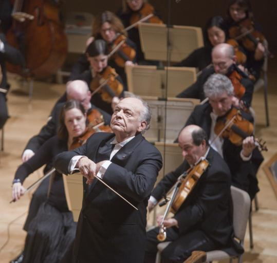 Lorin Maazel's leadership of the BSO on Thursday night was cool, crisp, and tightly controlled.