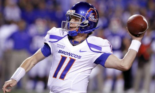 Boise State's Kellen Moore threw for 354 yards and three TDs.