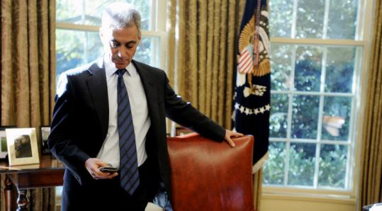 'Let's be honest,' White House chief of staff Rahm Emanuel said. 'The goal isn't to see whether I can pass this through the executive board of the Brookings Institution. I'm passing it through the United States Congress with people who represent constituents.'