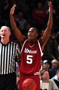 UMass's Ricky Harris, the leading returning scorer in the Atlantic 10, must do more for the Minutemen to be successful.