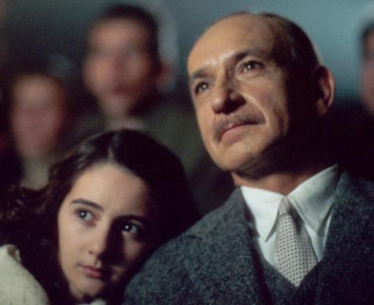 Anne Frank's story has inspired many adaptations, like this one from 2001 with Ben Kingsley and Hannah Taylor Gordon.