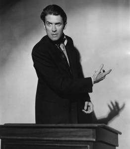 """The filibuster is indelibly associated with Jimmy Stewart in """"Mr. Smith Goes to Washington'' but the tactic has become almost routine, cheapened beyond recognition by the Beltway's new math."""