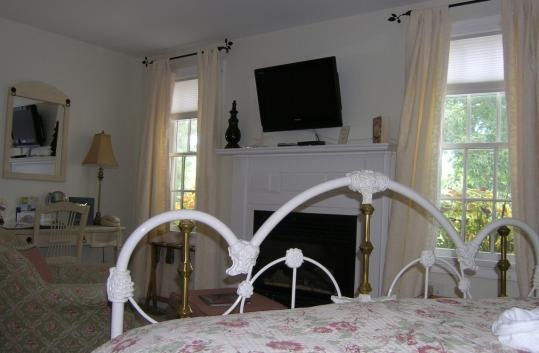 The 19th-century farmhouse at Brewster by the Sea includes the Beach Blossom Room.