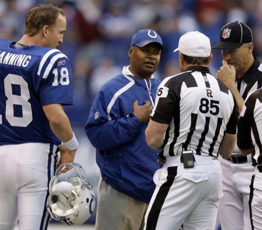 New Colts coach Jim Caldwell may lose an argument with an official now and then, but he has yet to lose a game as an NFL head coach. The ever-humble mentor deflects the credit, however.