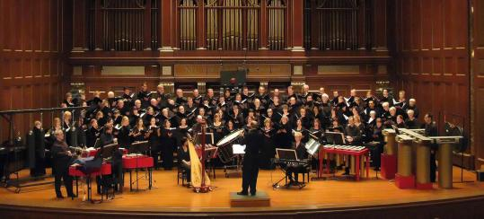 "Gil Rose conducted the Boston Modern Orchestra Project and the Providence Singers in ""La Koro Sutro'' Friday at Jordan Hall."