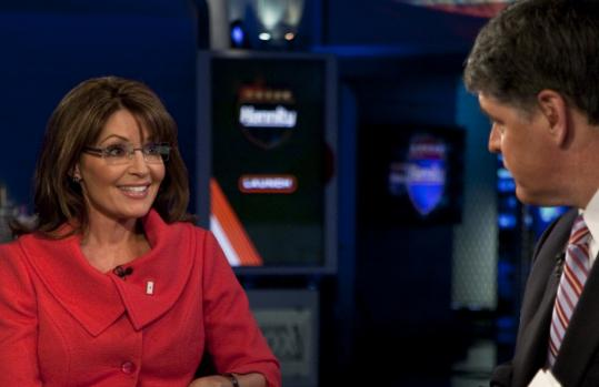 This week Sean Hannity interviewed Sarah Palin on Fox News, and (below) she and daughters Piper and Willow made an appearance on Oprah Winfrey's show.