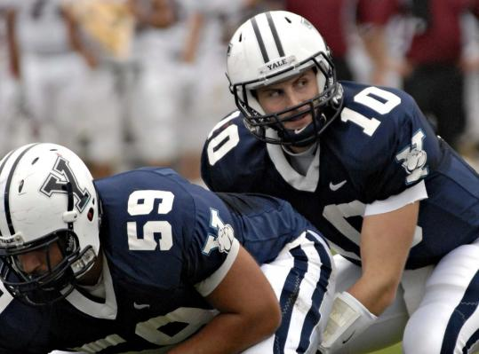 Yale quarterback Patrick Witt went from the football-crazed Big 12 Conference to the Ivy League, where athletics take a back seat to academics.