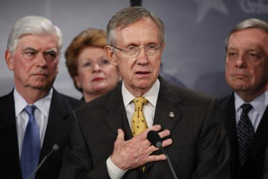 Senate majority leader Harry Reid unveiled his long-awaited version of a sweeping health care bill last night. He is hoping to bring the health care package up for a test vote on Saturday.